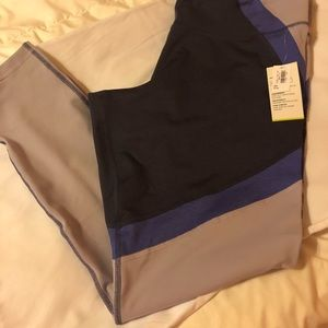Old Navy high waisted color block leggings.